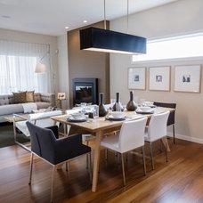 Modern Dining Room by Natalie Fuglestveit Interior Design