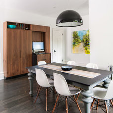 Contemporary Dining Room by Stephani Buchman Photography