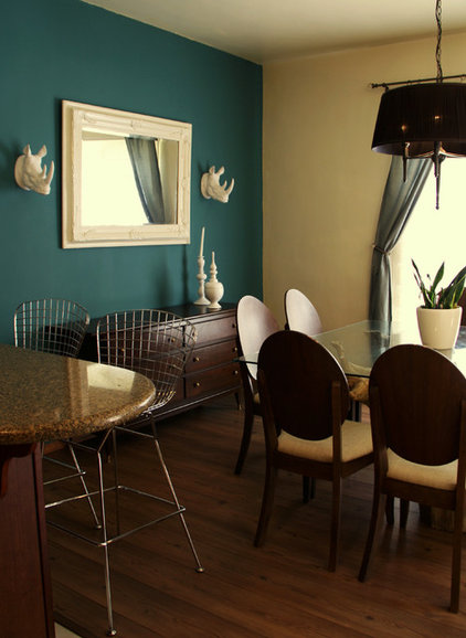 Modern Dining Room by Funster