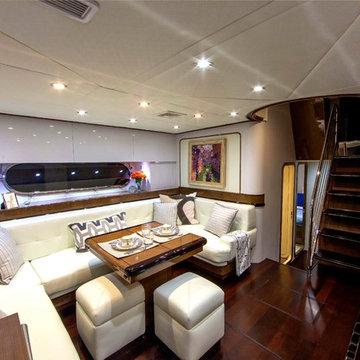 Miami Contemporary, 80' Baia Yacht