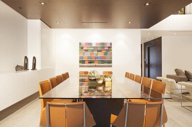 Contemporary Dining Room by DKOR Interiors Inc.- Interior Designers Miami, FL