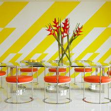 Modern Dining Room by Anthony Baratta LLC