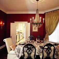 Eclectic Dining Room by Michael Menn Ltd.
