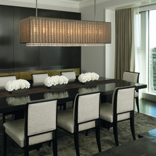 Contemporary Dining Room by Gary Lee Partners