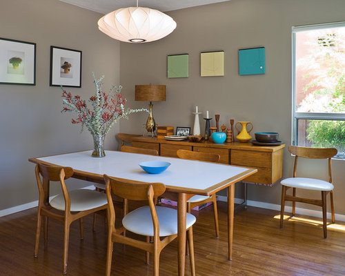 salle manger moderne avec un sol en bambou photos et id es d co de salles manger. Black Bedroom Furniture Sets. Home Design Ideas