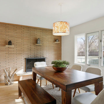 Mid Century Home Staging in Golden Valley