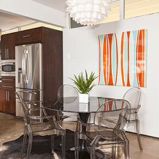 Contemporary Dining Room by House & Homes Palm Springs Home Staging