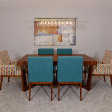 Modern Dining Room by Kerrie L. Kelly