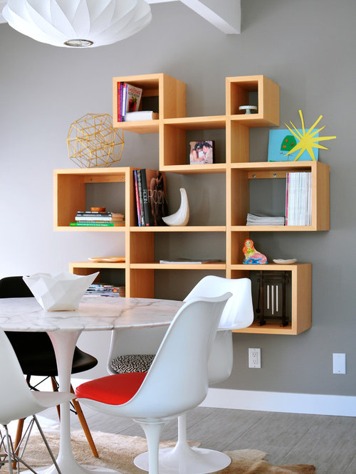 midcentury storage shelving unit dining room design ideas renovations