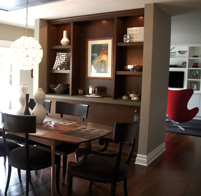 Modern Dining Room by Environments Design Group, Inc