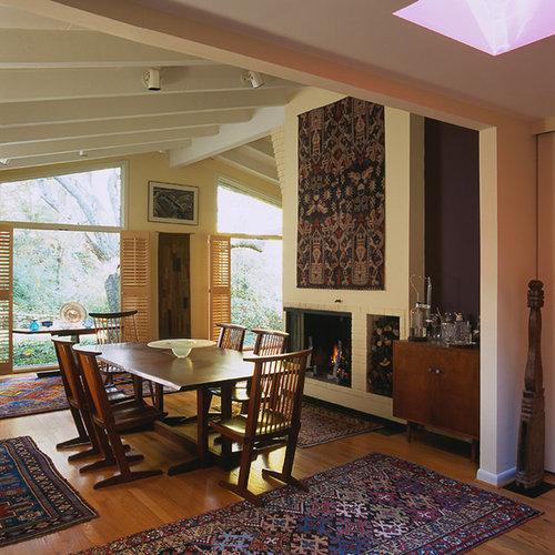 Mid Century Fireplace mid century fireplace surround | houzz