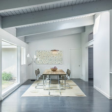 Midcentury Dining Room by Flavin Architects