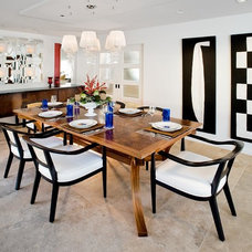 Modern Dining Room by Pavilack Design