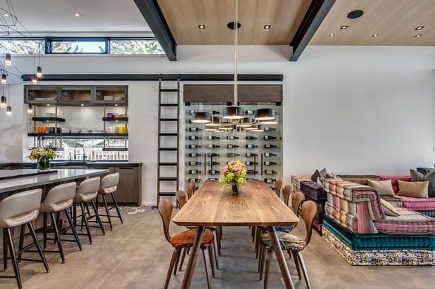 Contemporary Dining Room by Rockwood Custom Homes