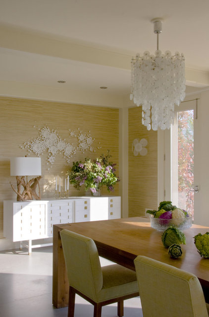 Midcentury Dining Room by Amy Lau Design