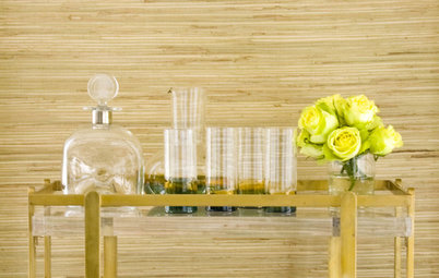 Warm Up Your Walls With Woven Wallcovering