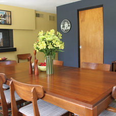 Midcentury Dining Room by At Home Modern