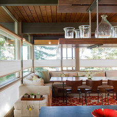 Midcentury Dining Room by Pearson Design Group