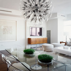 Contemporary Dining Room by Cara Zolot Interiors Ltd.