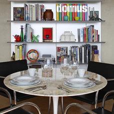 Asian Dining Room by Johnson Berman