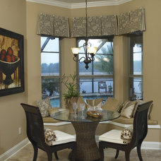 Traditional Dining Room by Clausen Residential