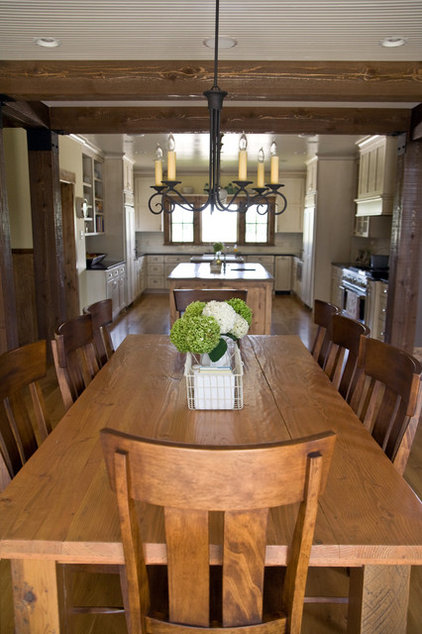 Farmhouse Dining Room by Murphy & Co. Design