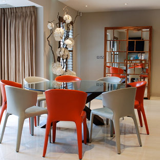 Red Dining Chairs | Houzz