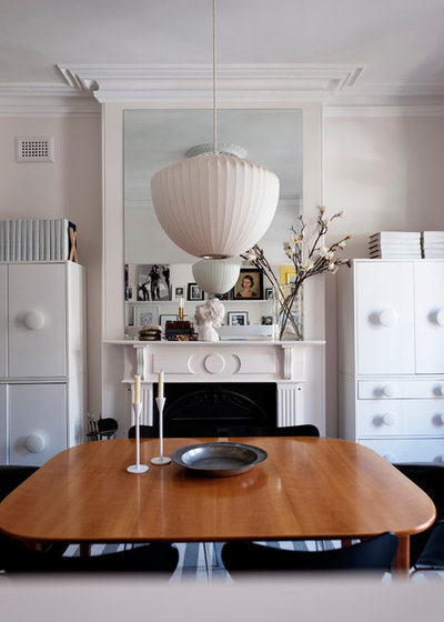 Scandinavian Dining Room by ANNA CARIN Design