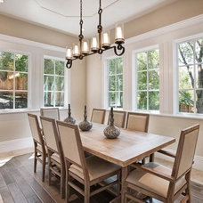 Traditional Dining Room by KCS, Inc.