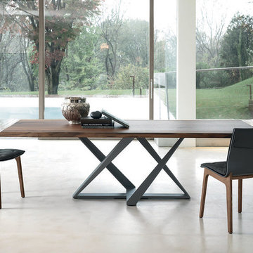 Millennium Wood Dining Table by Bontempi Casa