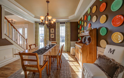 Room of the Day: Fiestaware Freshens Up a Dining Room