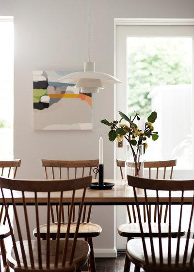 Scandinavian Dining Room by ANNA CARIN Design