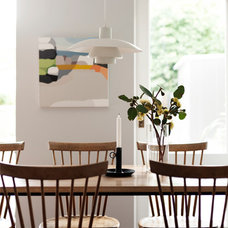 Midcentury Dining Room by ANNA CARIN Design