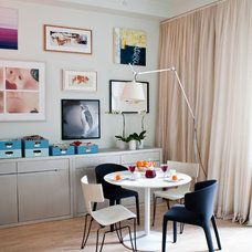 Contemporary Dining Room by fo design