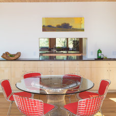 Modern Dining Room by Teton Heritage Builders
