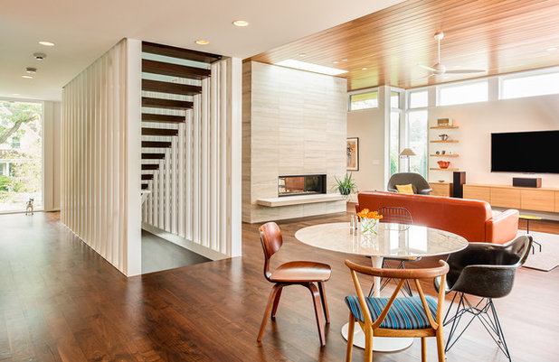 Houzz Tour Modern Minneapolis Home Balances Openness And Privacy   Modern  Furniture Minneapolis