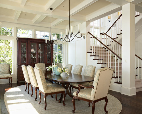 open to dining room | houzz