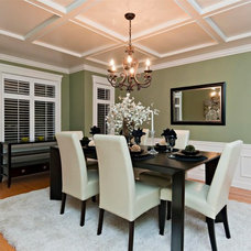 Traditional Dining Room by Positive Space Staging + Design, Inc.
