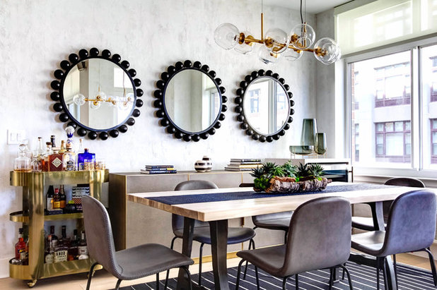 Contemporary Dining Room by August Black