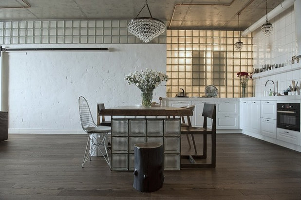 Industrial  Esszimmer by ARCHPOLE