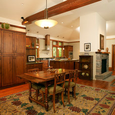 Traditional Dining Room by John Gehri Zerrer