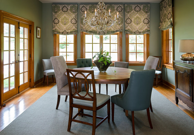 Traditional Dining Room by Kathy Corbet Interiors