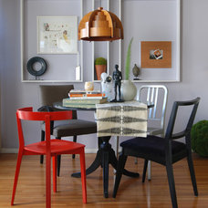 Eclectic Dining Room by MJ Lanphier