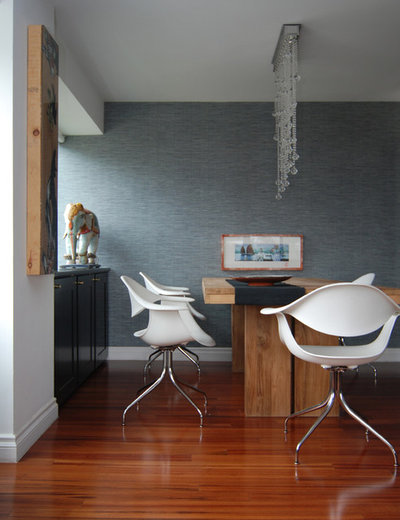 Contemporary Dining Room by MJ Lanphier