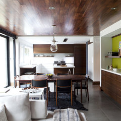 modern dining room by Capoferro Design Build Group