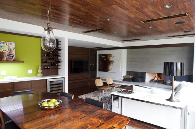 Contemporary Dining Room by Capoferro Design Build Group