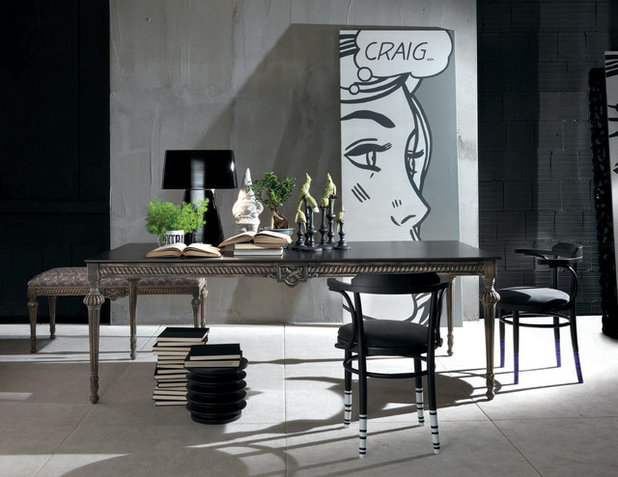 Eclectic Dining Room by Imagine Living