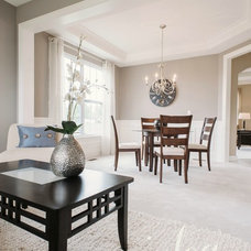 Contemporary Dining Room by Julea Reinventing Space