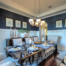 Traditional Dining Room by Monticello Homes