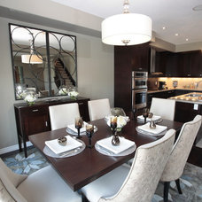 Modern Dining Room by Michelle Finnamore Interiors Ltd.